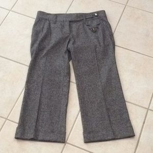 Dolce and Gabbana cropped wool pants